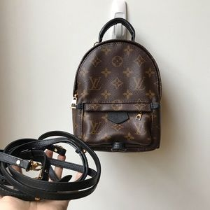 SOLD Louis Vuitton palm spring mini backpack